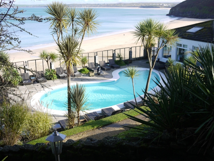 Cabbage Trees, Carbis Bay Hotel, St. Ives, Cornwall