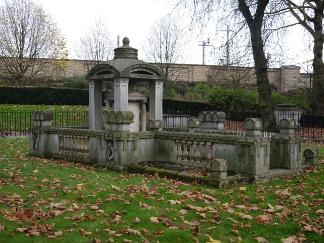 Sir John Soane's masoleum, Old St. Pancras churchyard, London