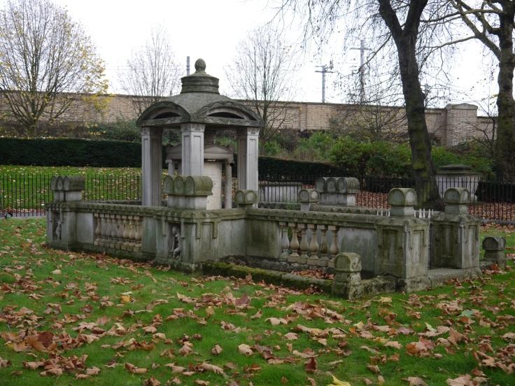 Sir John Soane's masoleum, Old St. Pancras churchyard, London